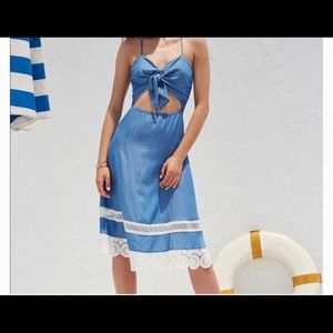 Lovers and friends denim dress